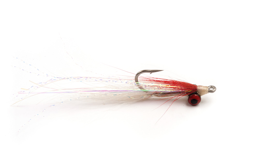 Clouser Minnow Red & White