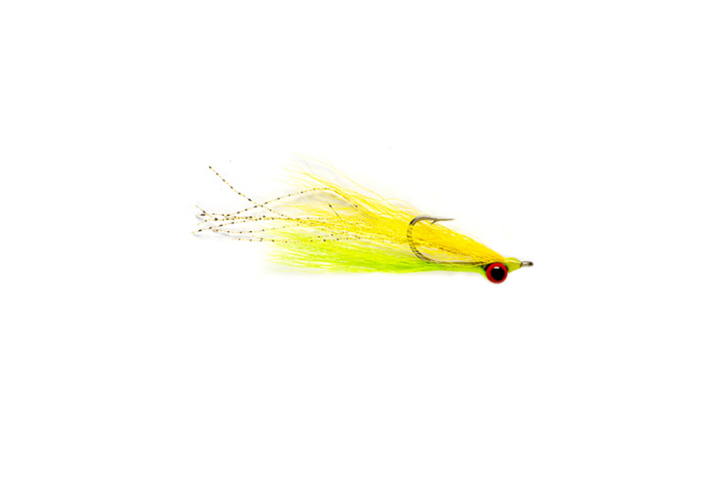 Clouser Minnow Yellow & Chartreuse