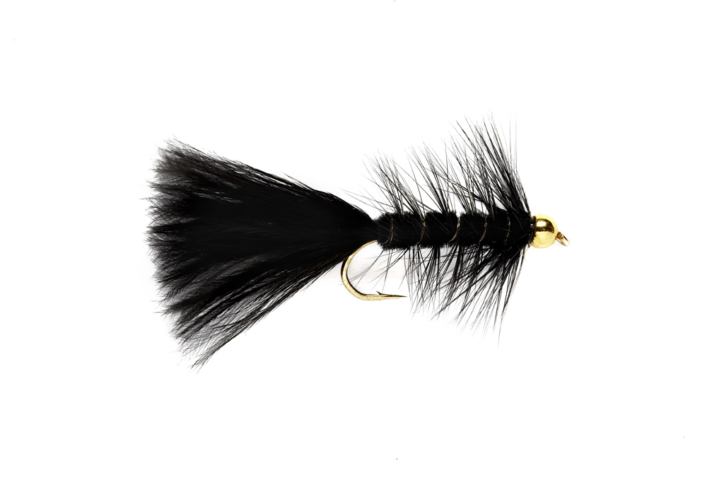 Woolly Bugger Black (BH)