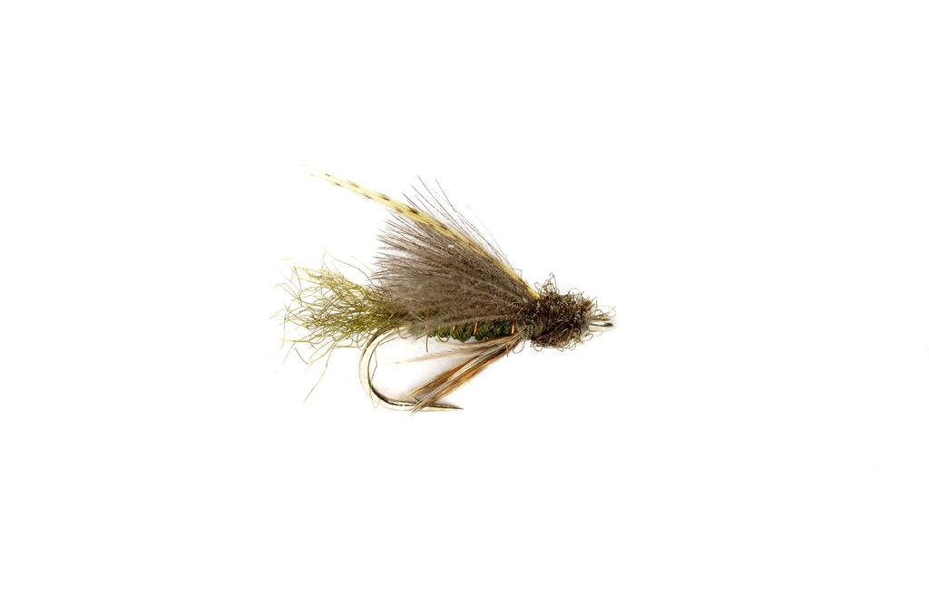 Emerger Caddis CdC Olive