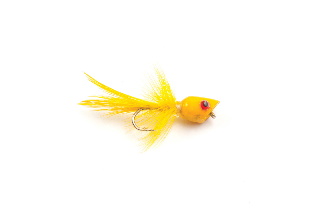 Bluegill Bug Popper Yellow