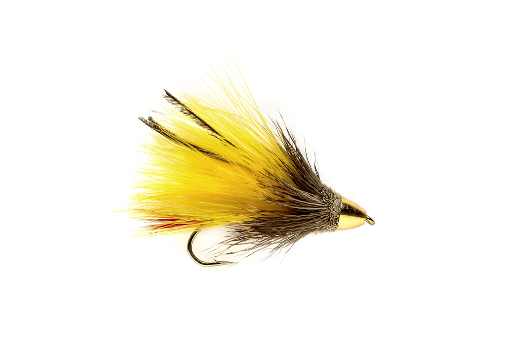 Conehead Marabou Muddler Yellow