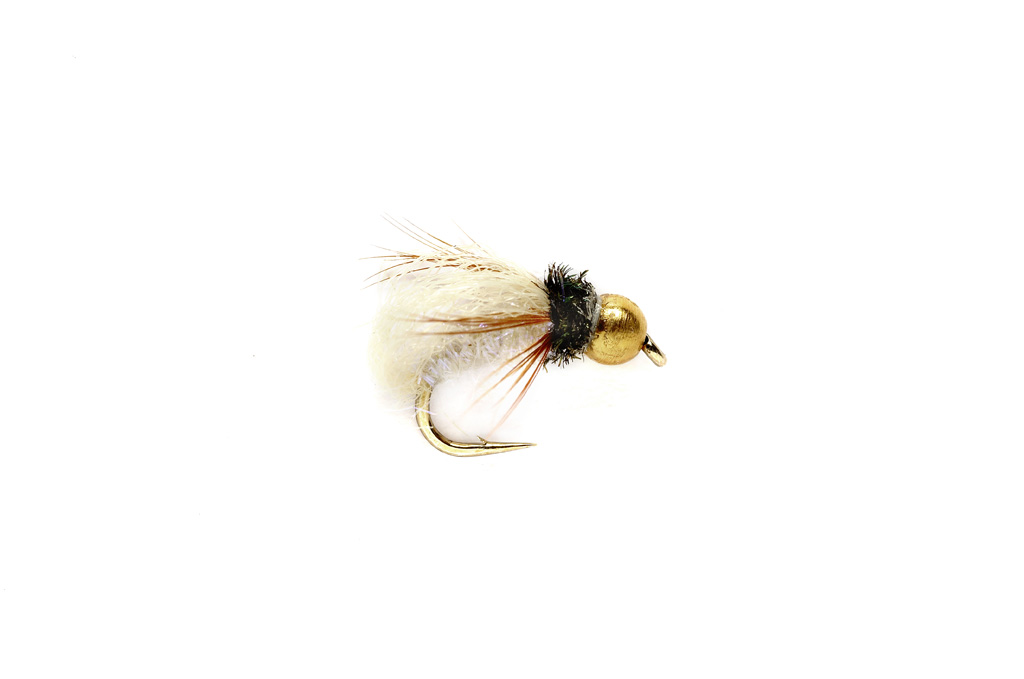 Jan's Pearl Caddis Pupa Tan
