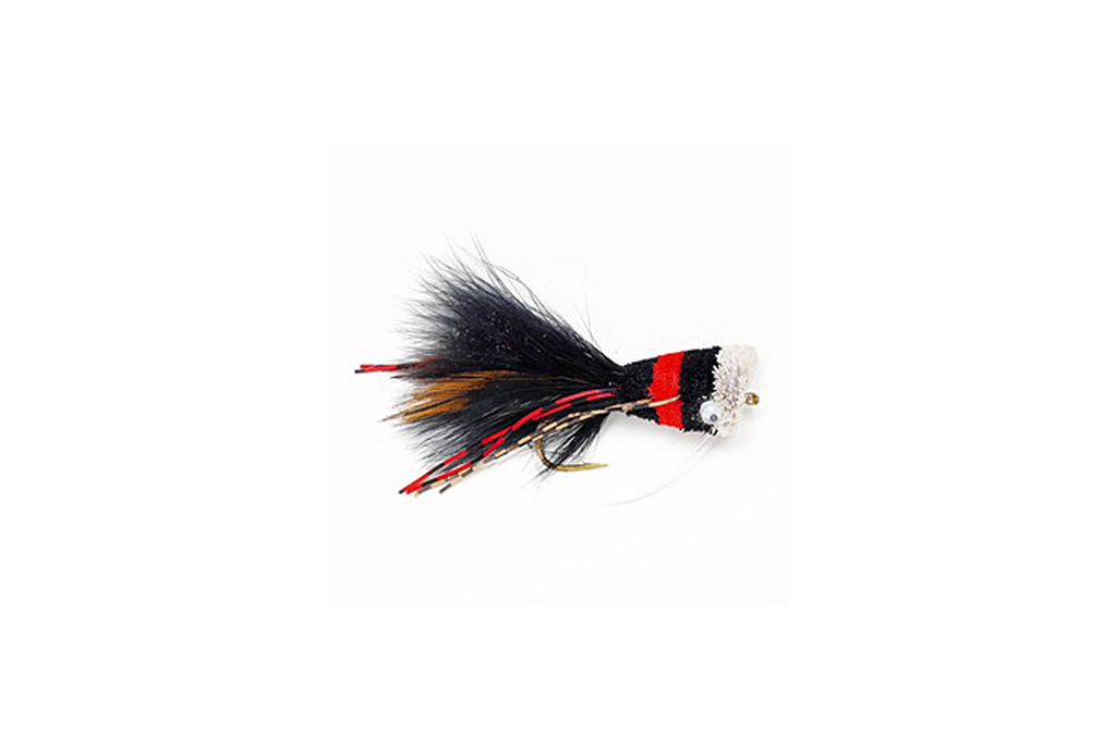 Bass Bug Black & Red
