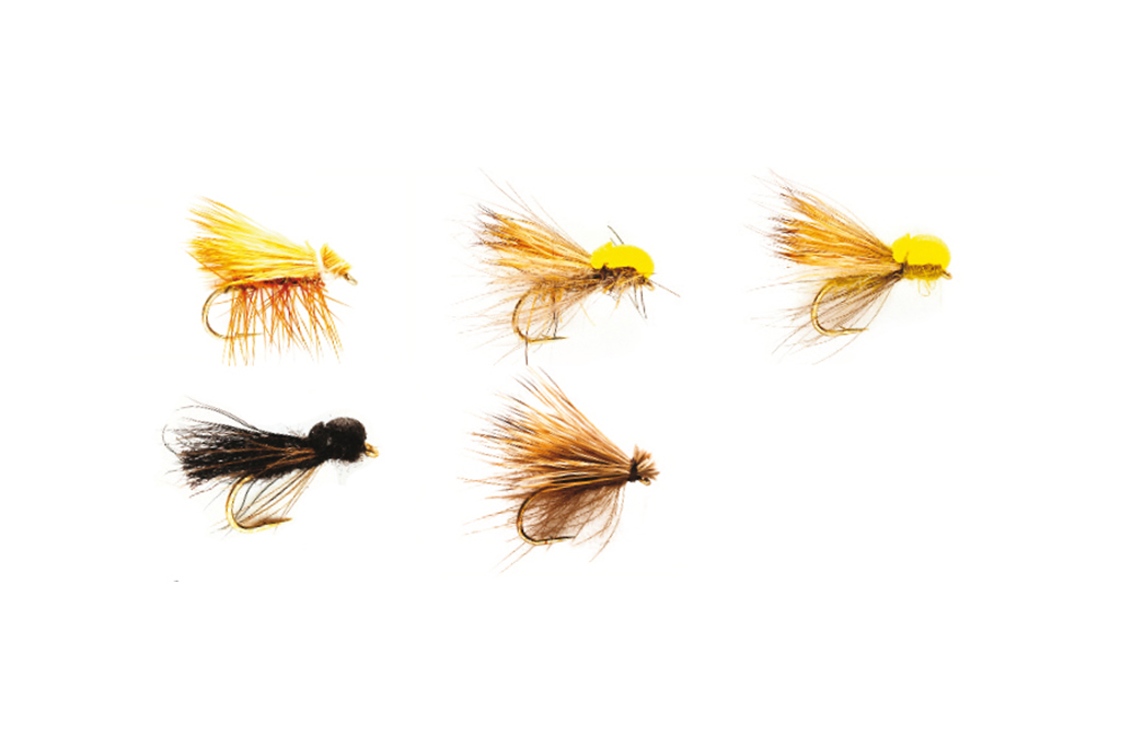 Caddis (Sedges) Selection