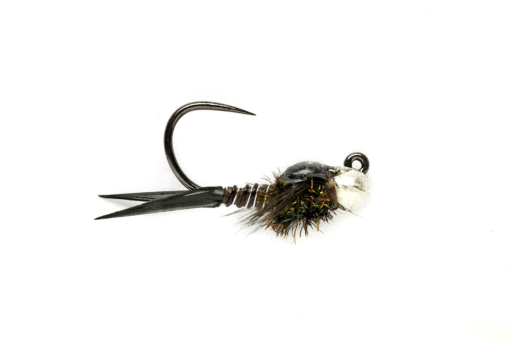 Copper John Jig Black (TBH) Barbless