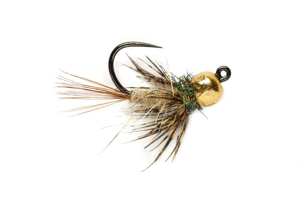 Soft Hackle Hare's Ear Jig Barbless