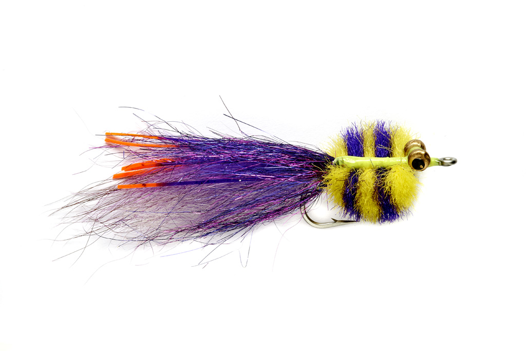 Bissette's Deep Crustacean Purple & Yellow