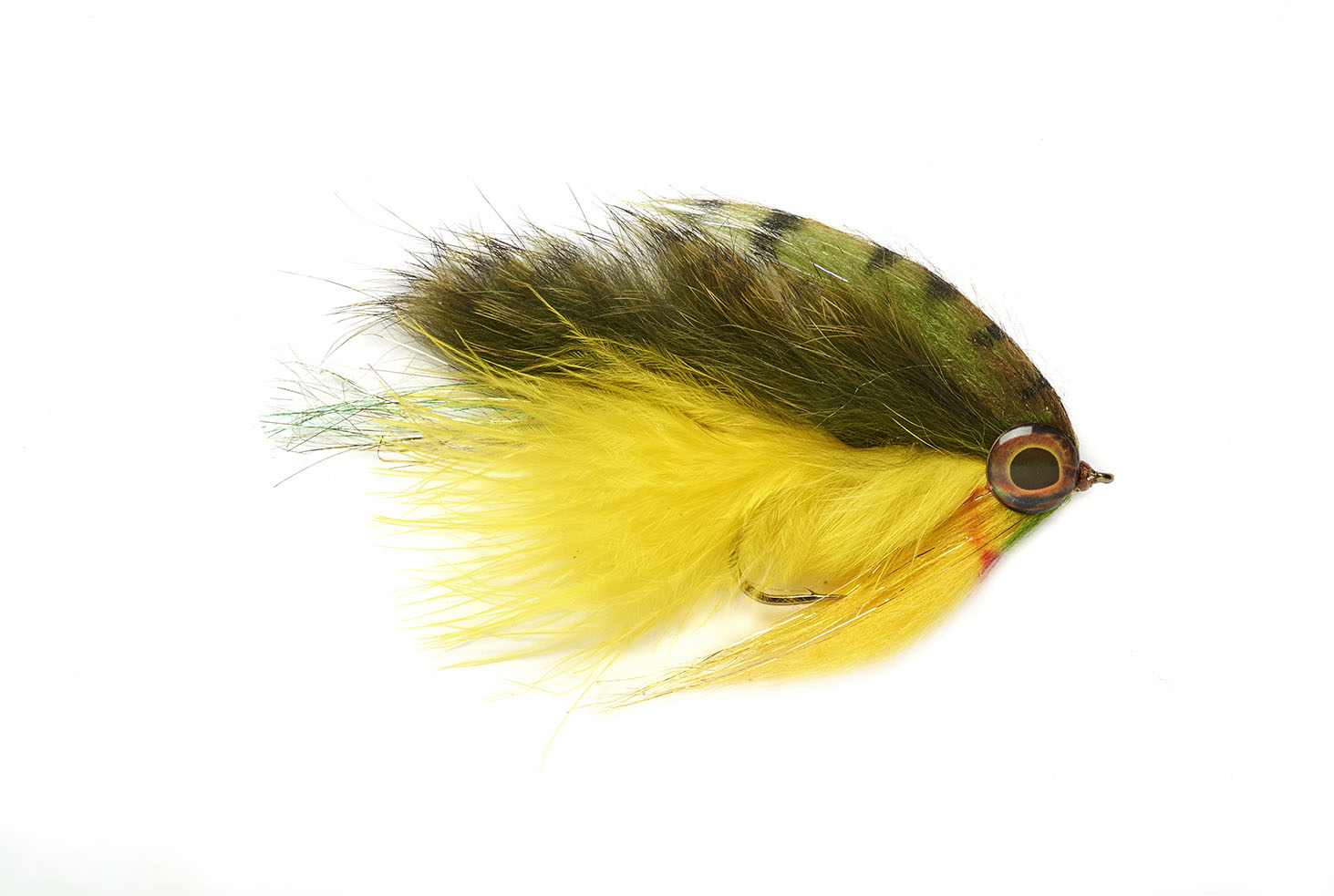 Bailes Out Minnow Yellow/Olive