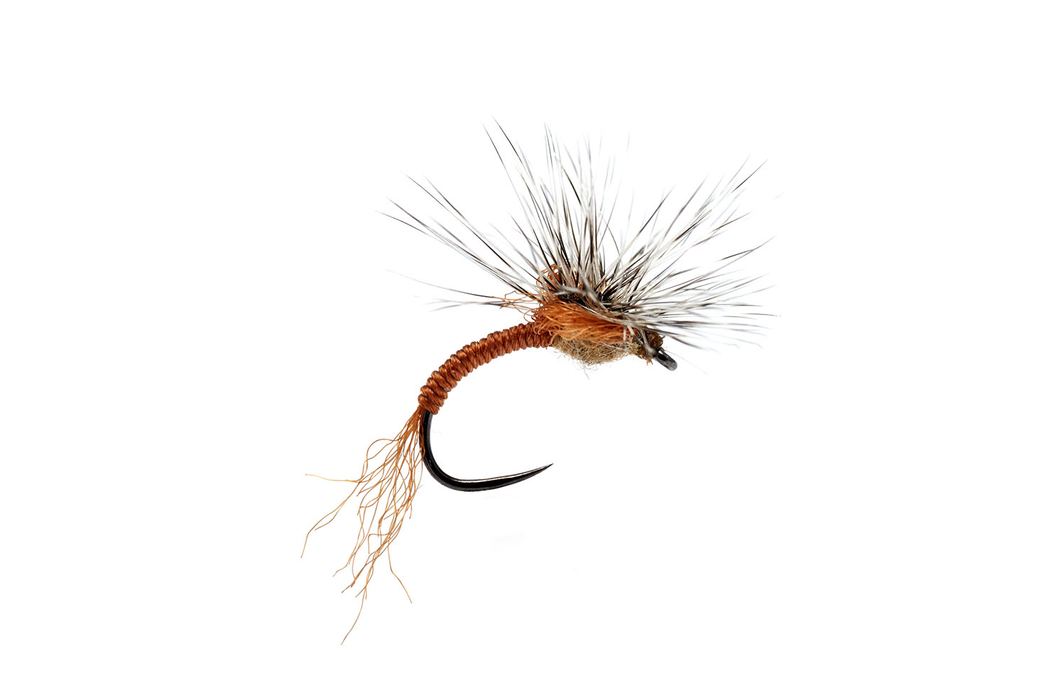 Outrigger Emerger Tan Barbless