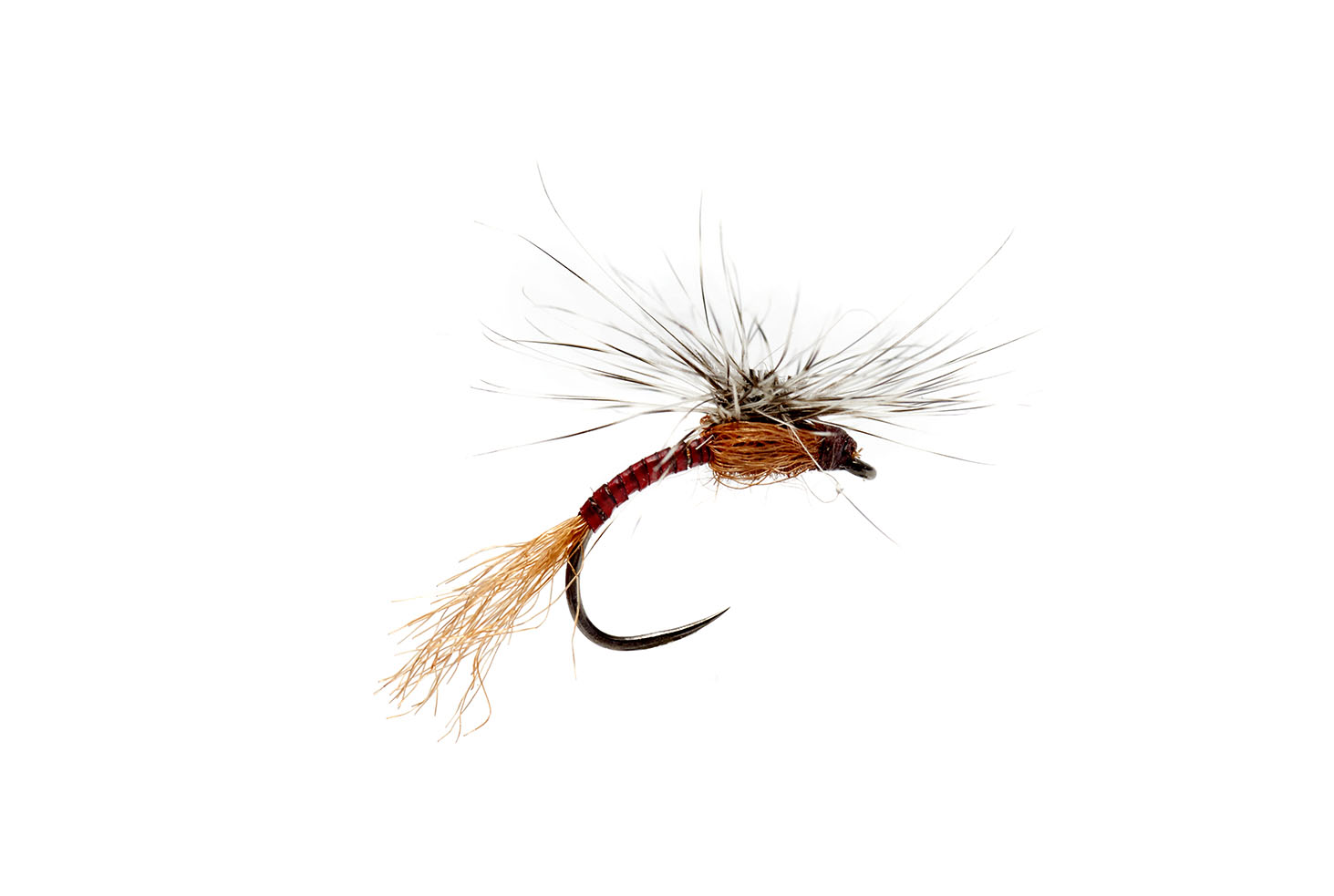 Outrigger Emerger Red Quill Barbless