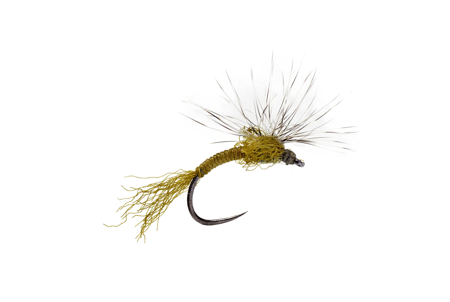 Outrigger Emerger Yellow Barbless