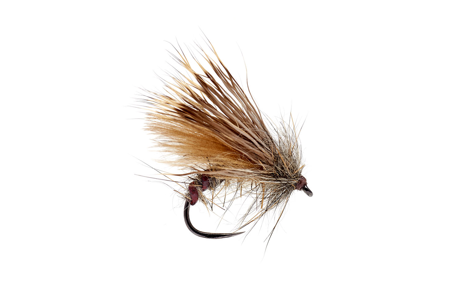 Emerger Caddis Tan Barbless