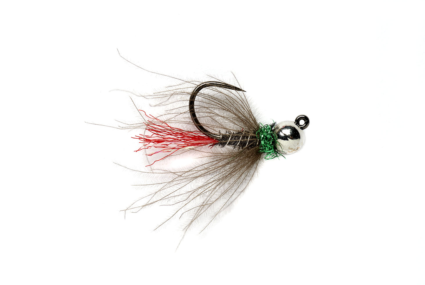 Red Tag Jig Black (TBH) Barbless