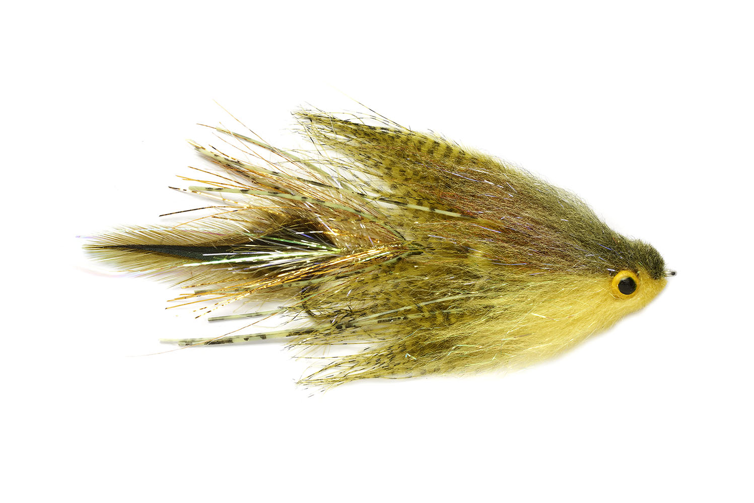 Mini Viking Midge Olive & Yellow