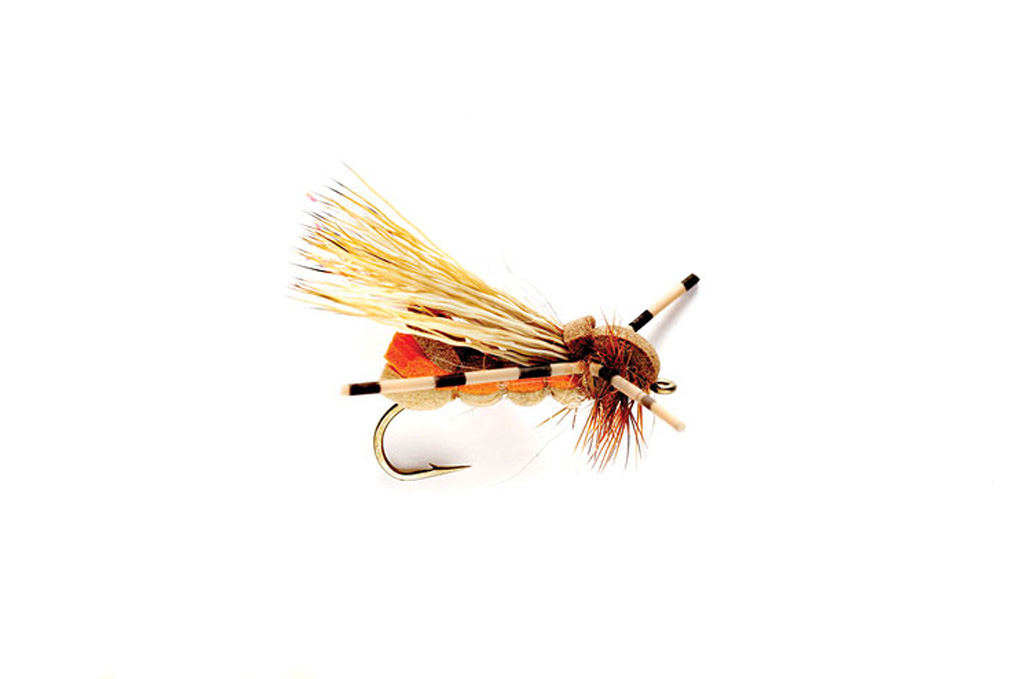 Yak Caddis Orange & Tan