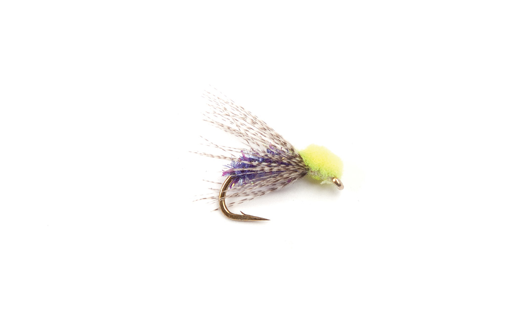 Chicken Hawk Chartreuse/Purple