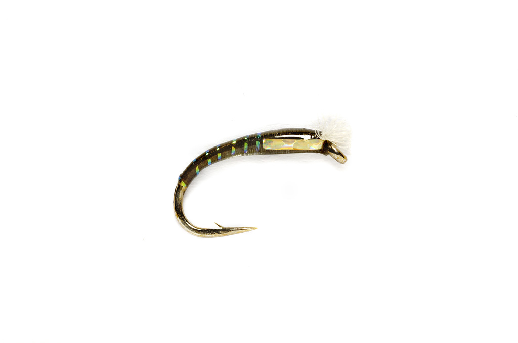 3D Glass Chironomid Dark Olive