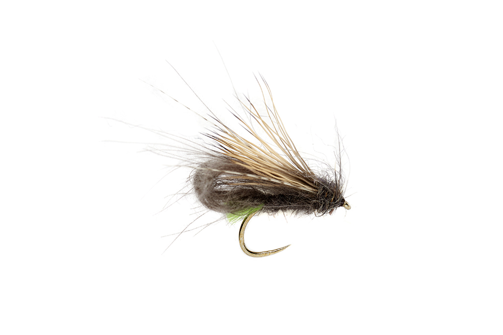 McPhail Bubble Caddis Green Tag Barbless