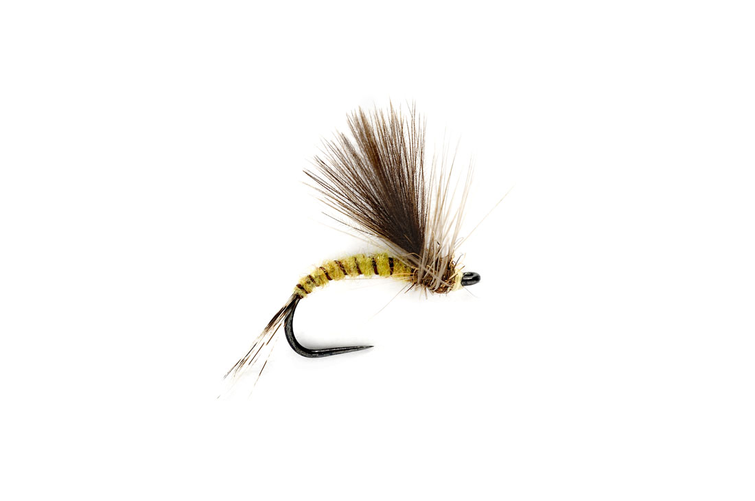 Olive CdC Emerger Barbless