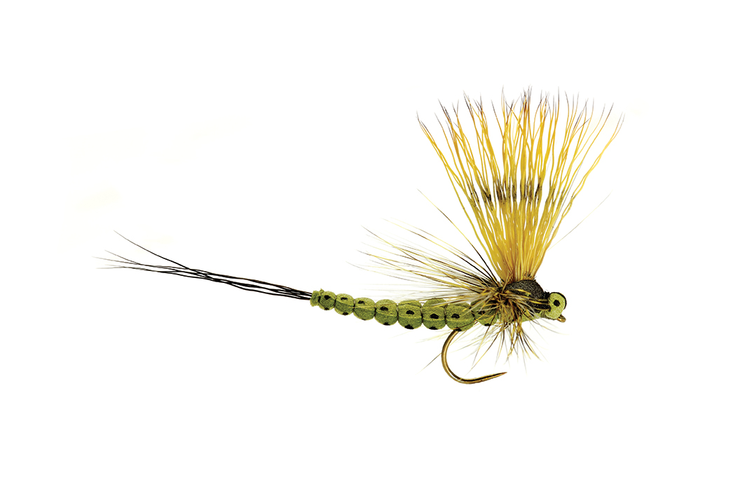 Mohican Mayfly Olive Barbless