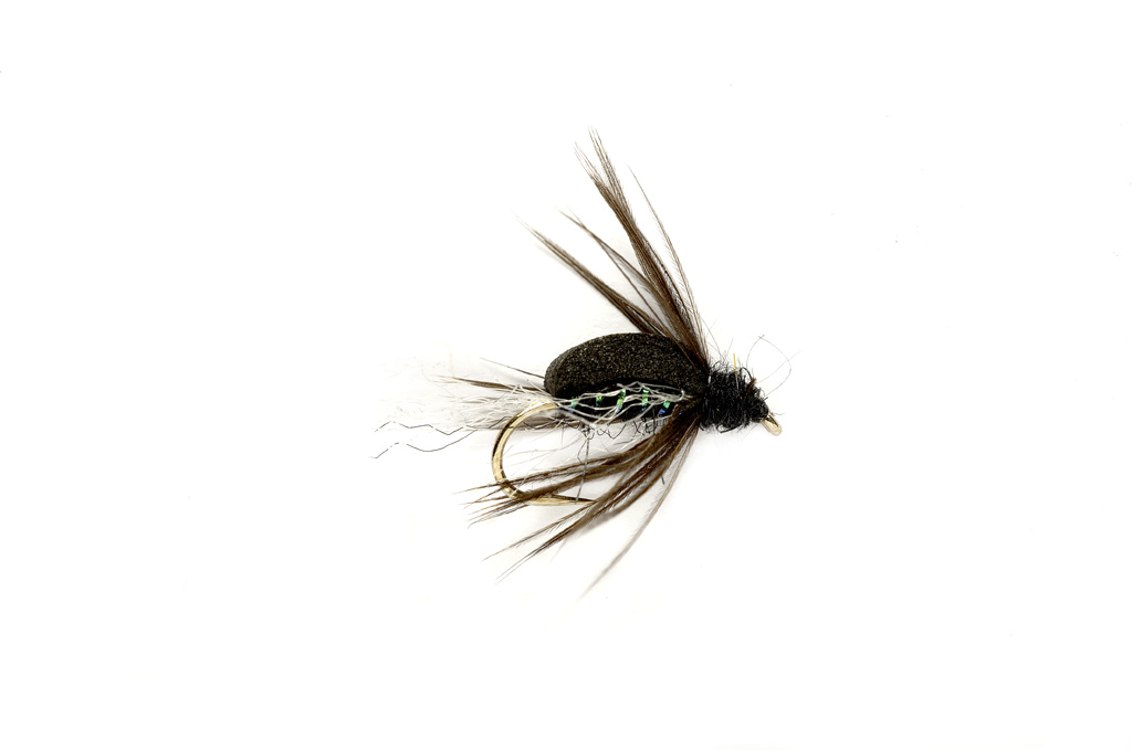 Bastian Float Caddis Emerger Black