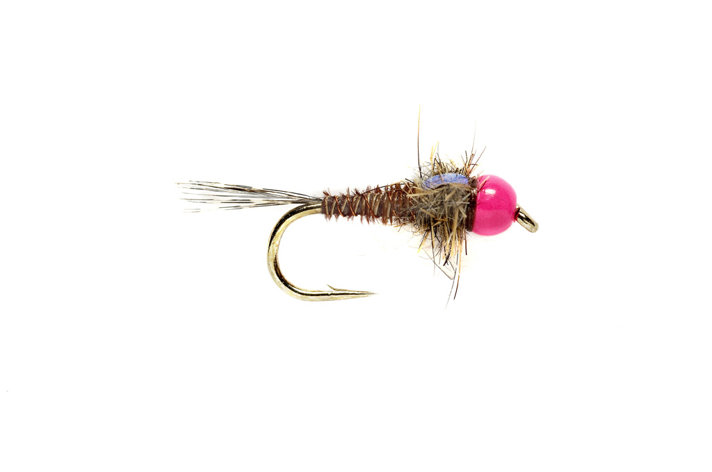 Hot Head Euro Pheasant Tail Pink