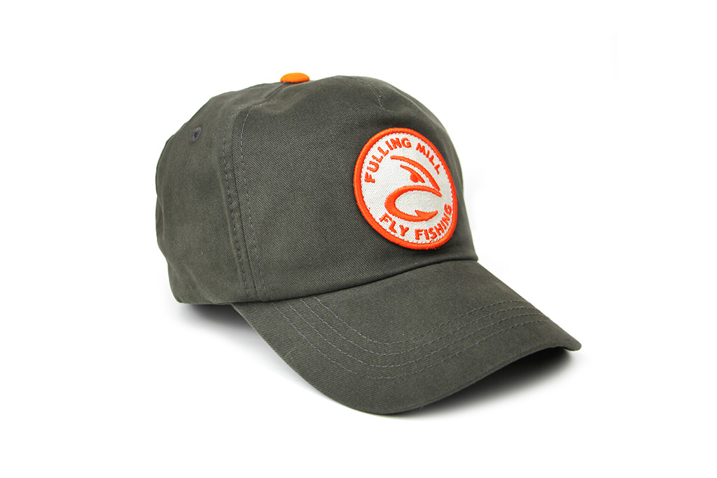 Snapback Hook Head Cap Graphite & Orange