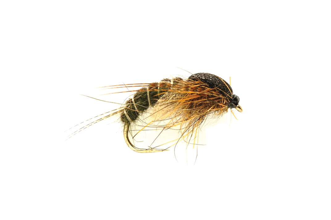 Dark Olive Hatchin Caddis
