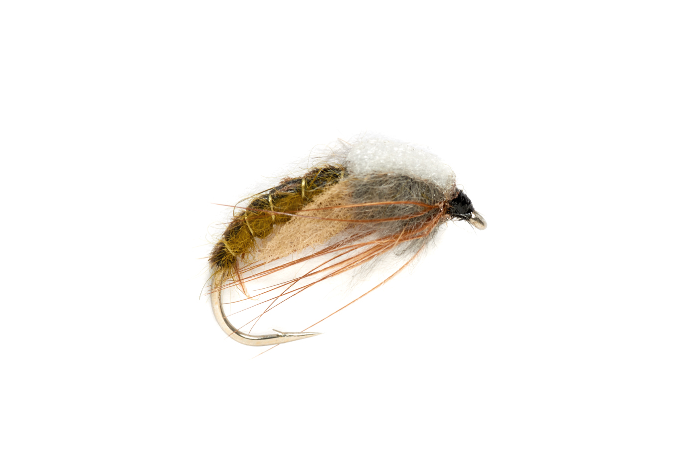 Light Olive Hatchin Caddis