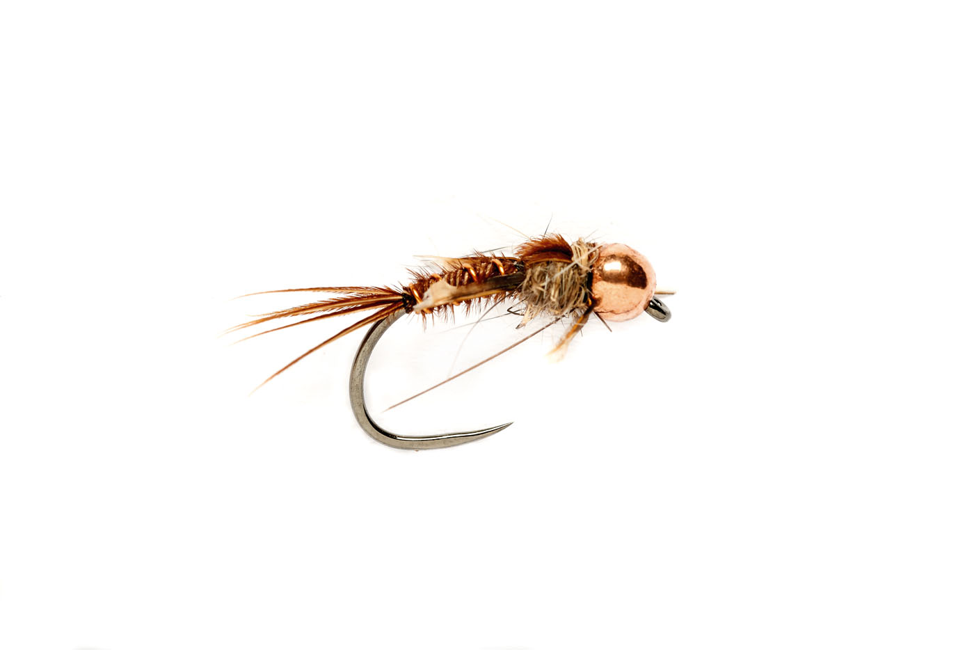 Pheasant Tail Czech Copper (TBH) Barbless