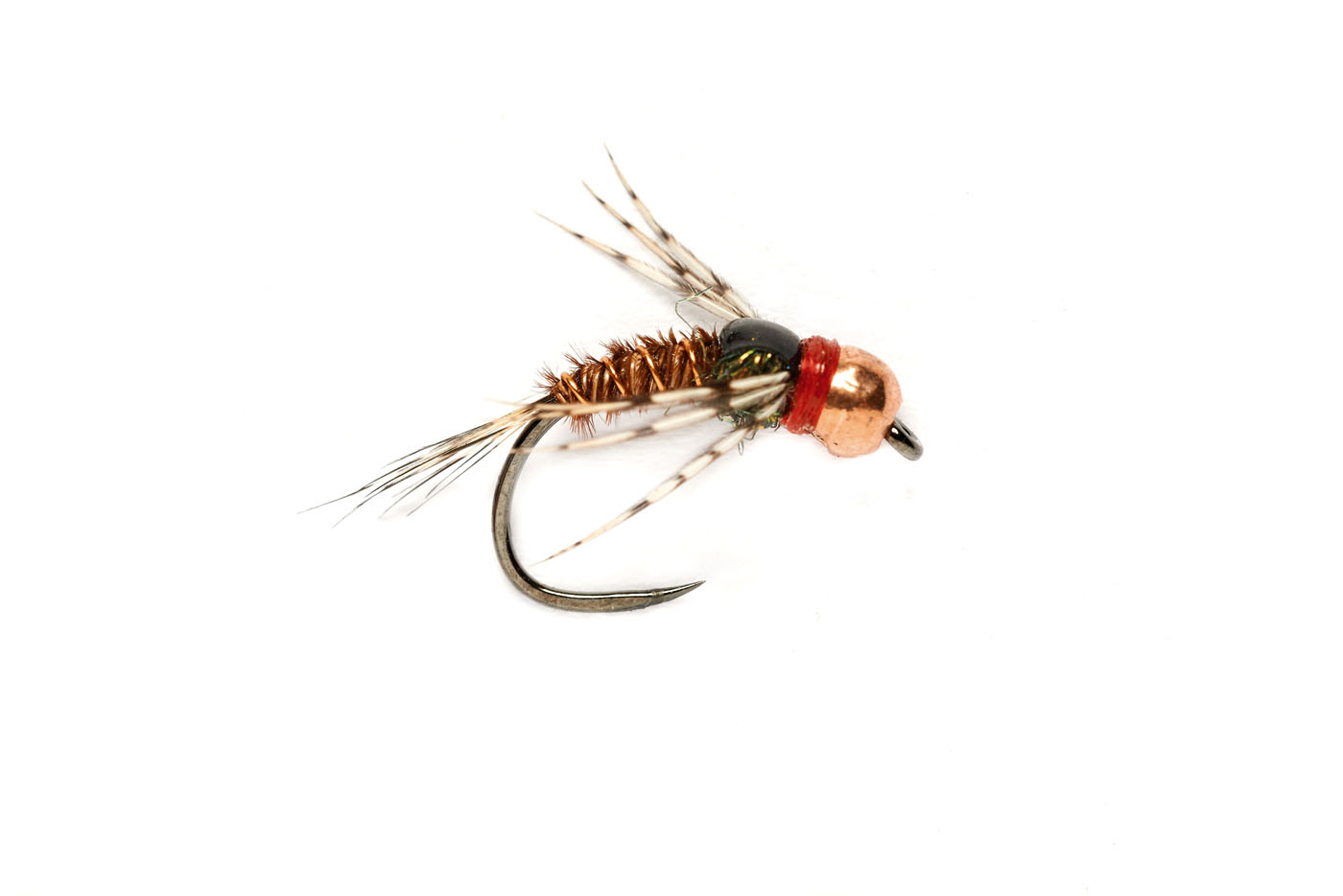 Pheasant Tail Red Collar Leggy (TBH) Barbless