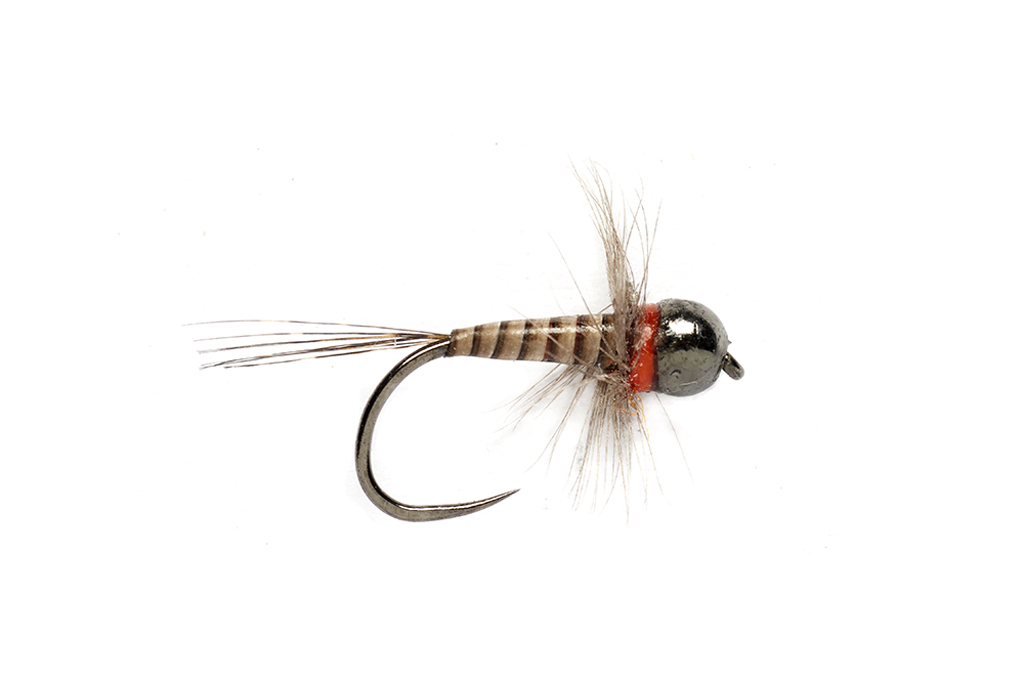 Jake's SH Perdigon Olive Barbless