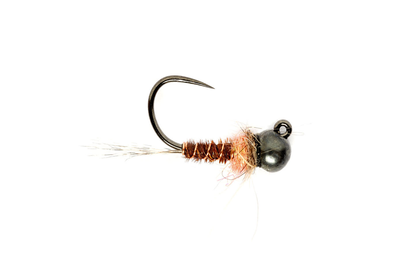 Pink Hot Spot Jig Barbless