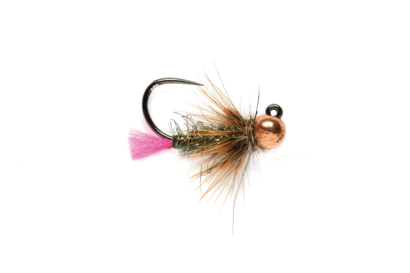 Pink Tag Jig Barbless