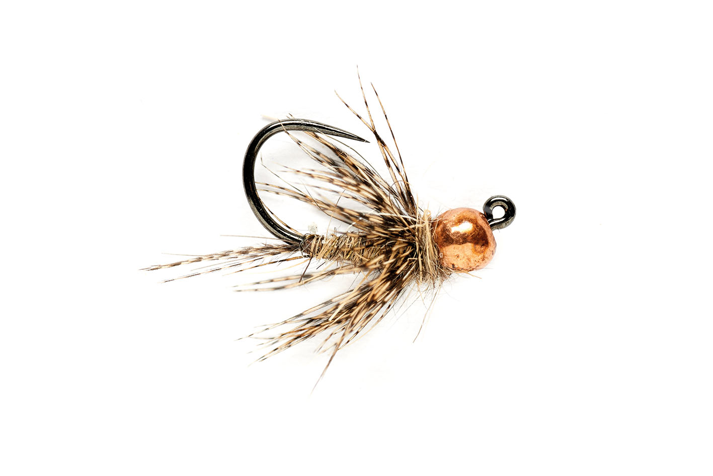 March Brown Jig Barbless
