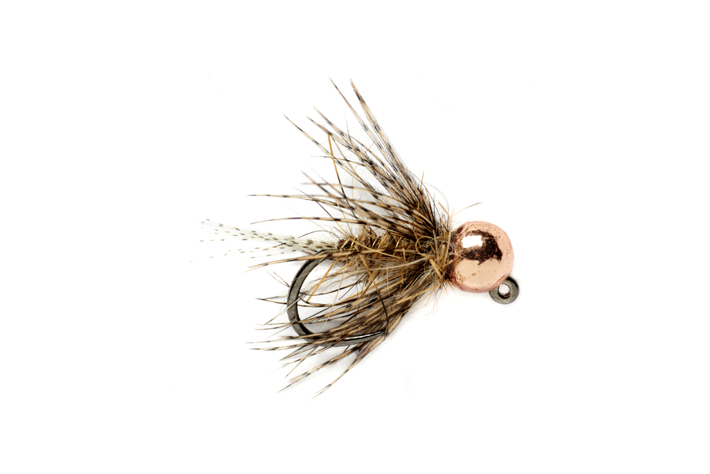 Tung Bomb March Brown Jig Barbless