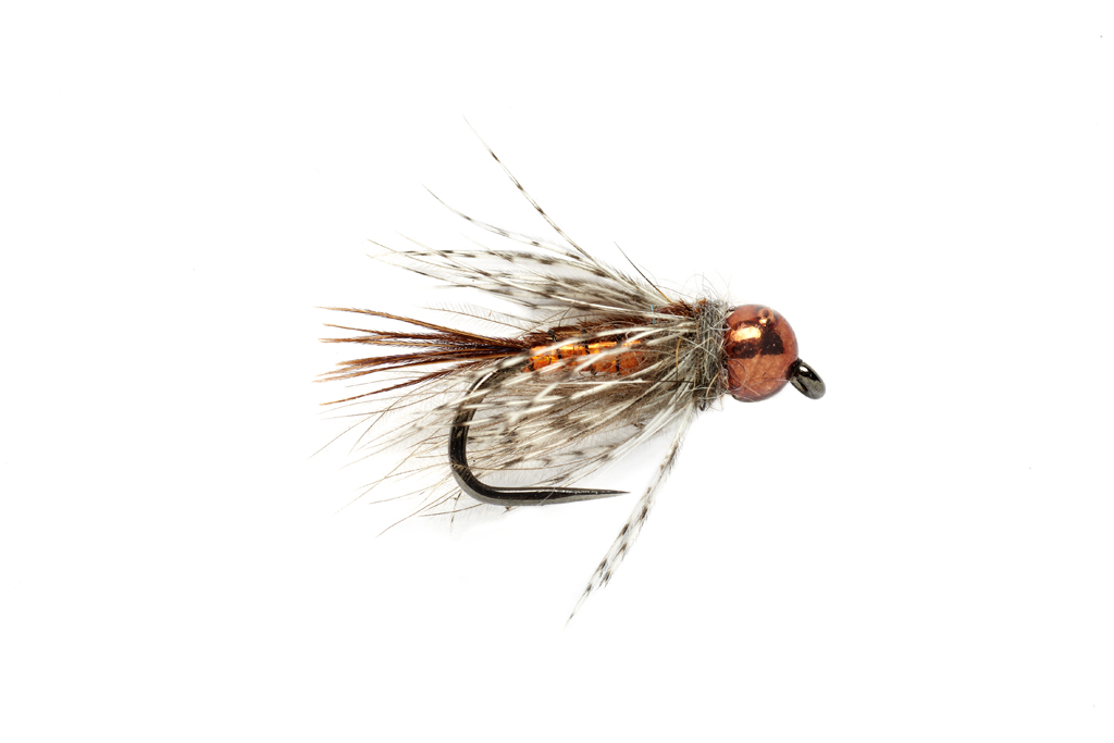 Tinsel Trout Stacker Orange Barbless