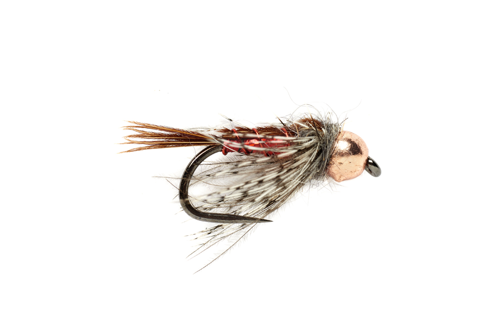 Tinsel Trout Stacker Red Barbless