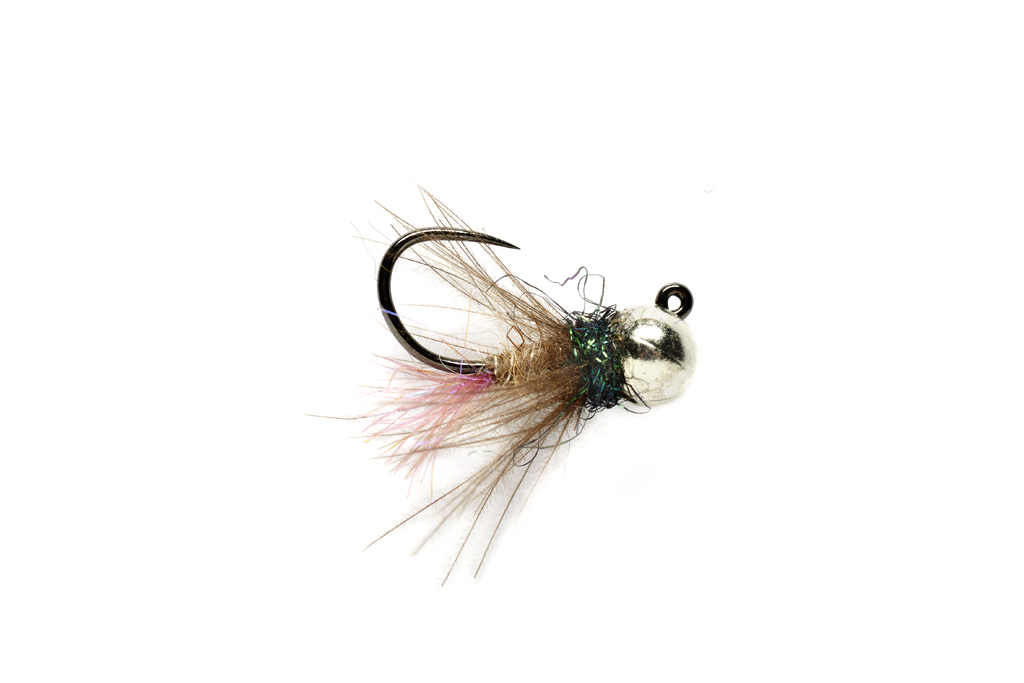 Roza's Violet Tailed Jig Barbless
