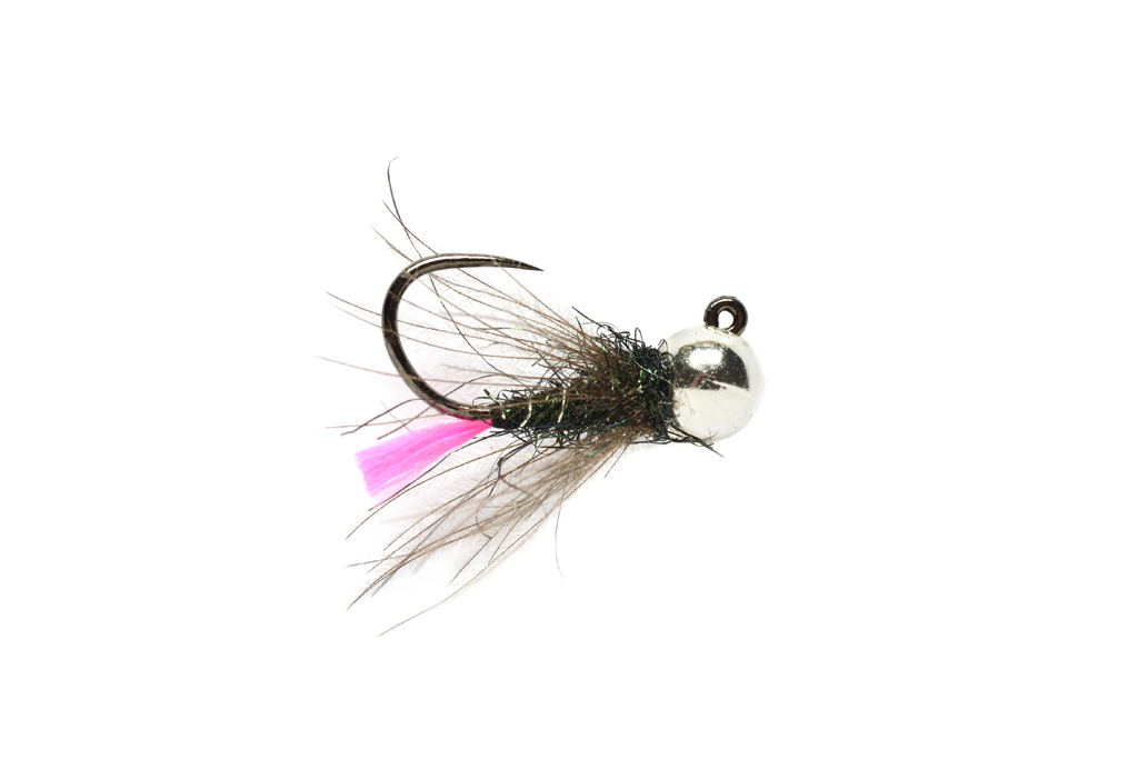 Roza's Pink Tag Jig Barbless