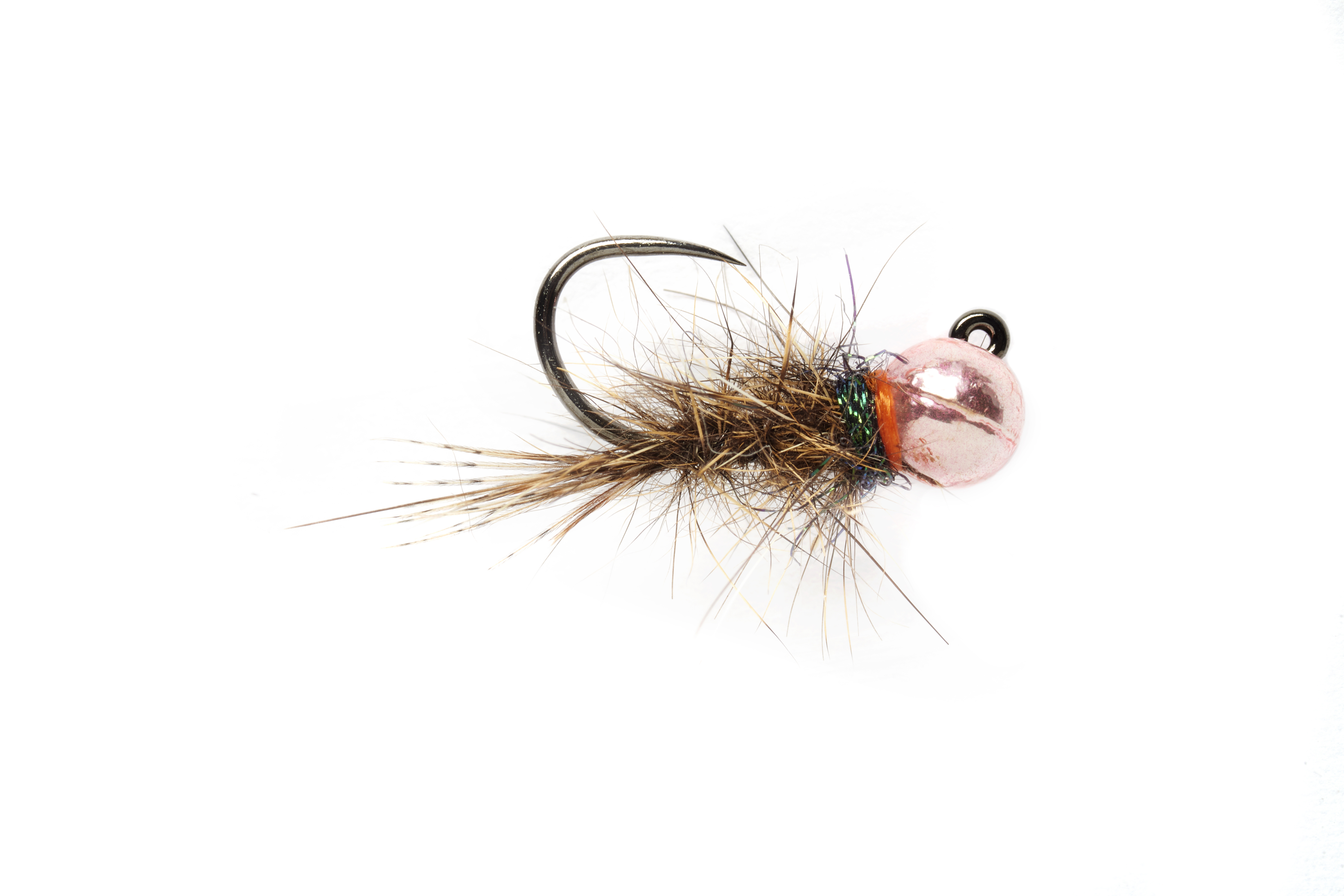 Roza's Pink Hares Ear Jig Barbless