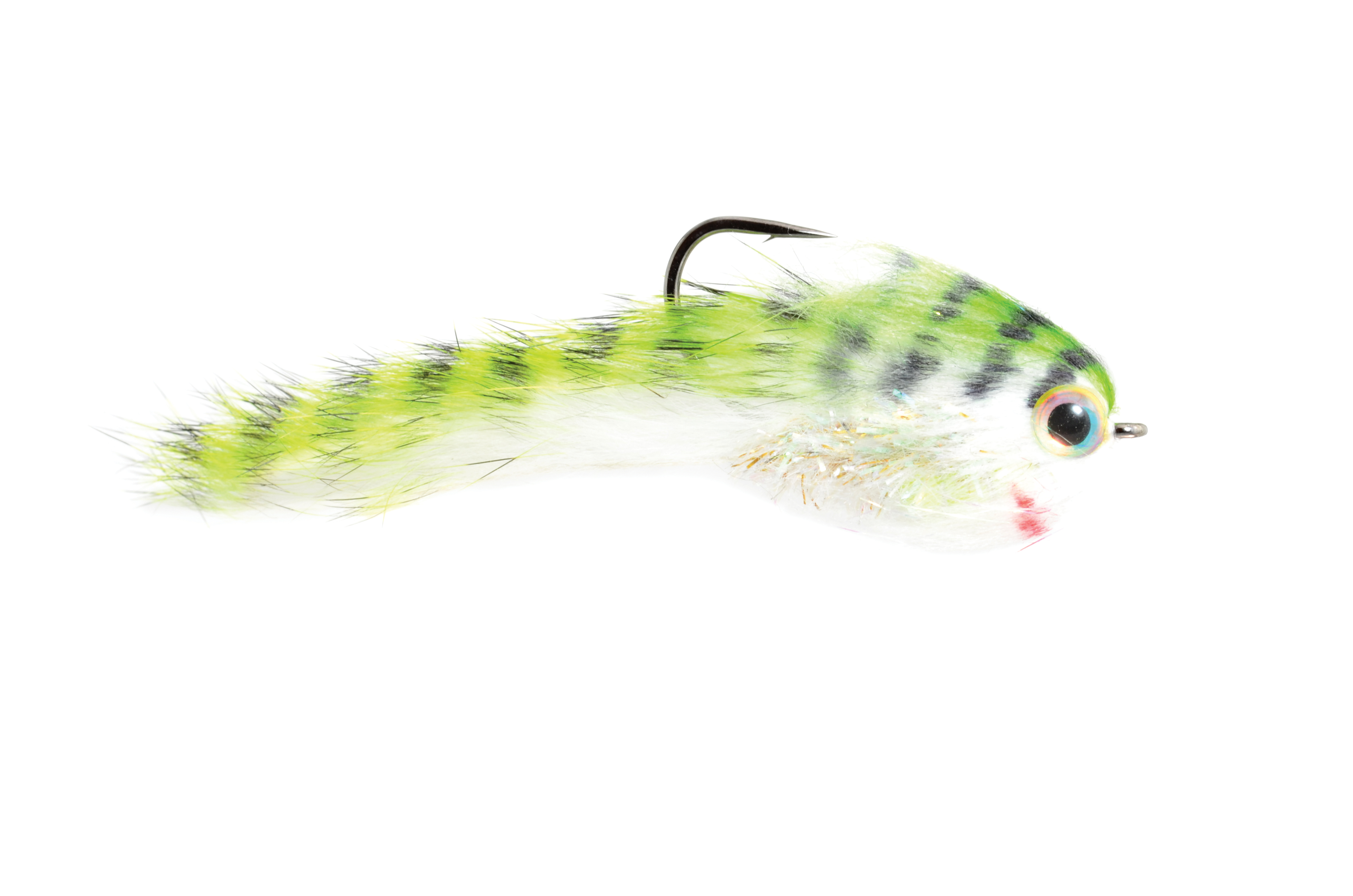 Belly Scratcher Minnow Chartruese & Black