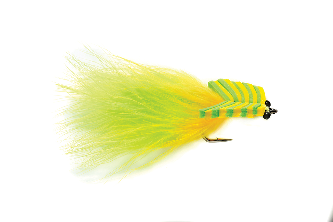 Floating Tarpon Toad Chartreuse