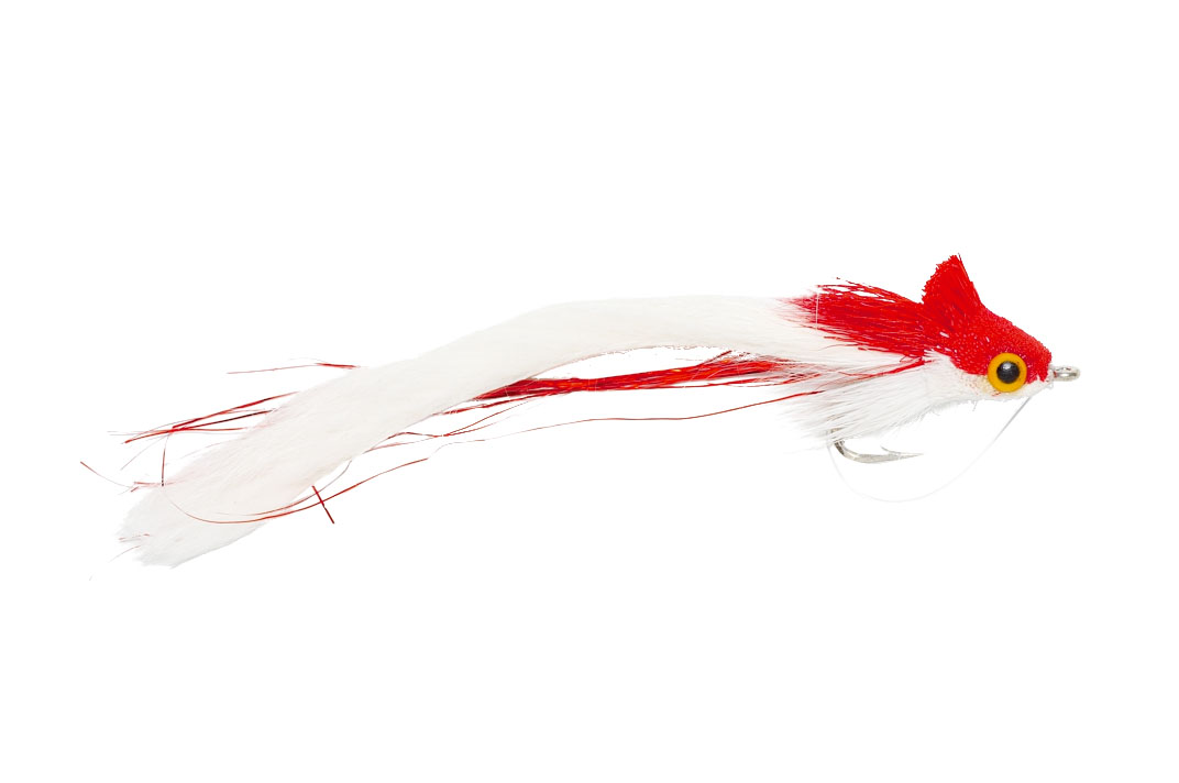 Rabbit Strip Diver Red & White