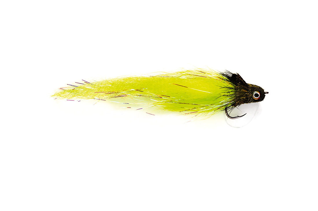Monster Deerhair Diver Chartruese