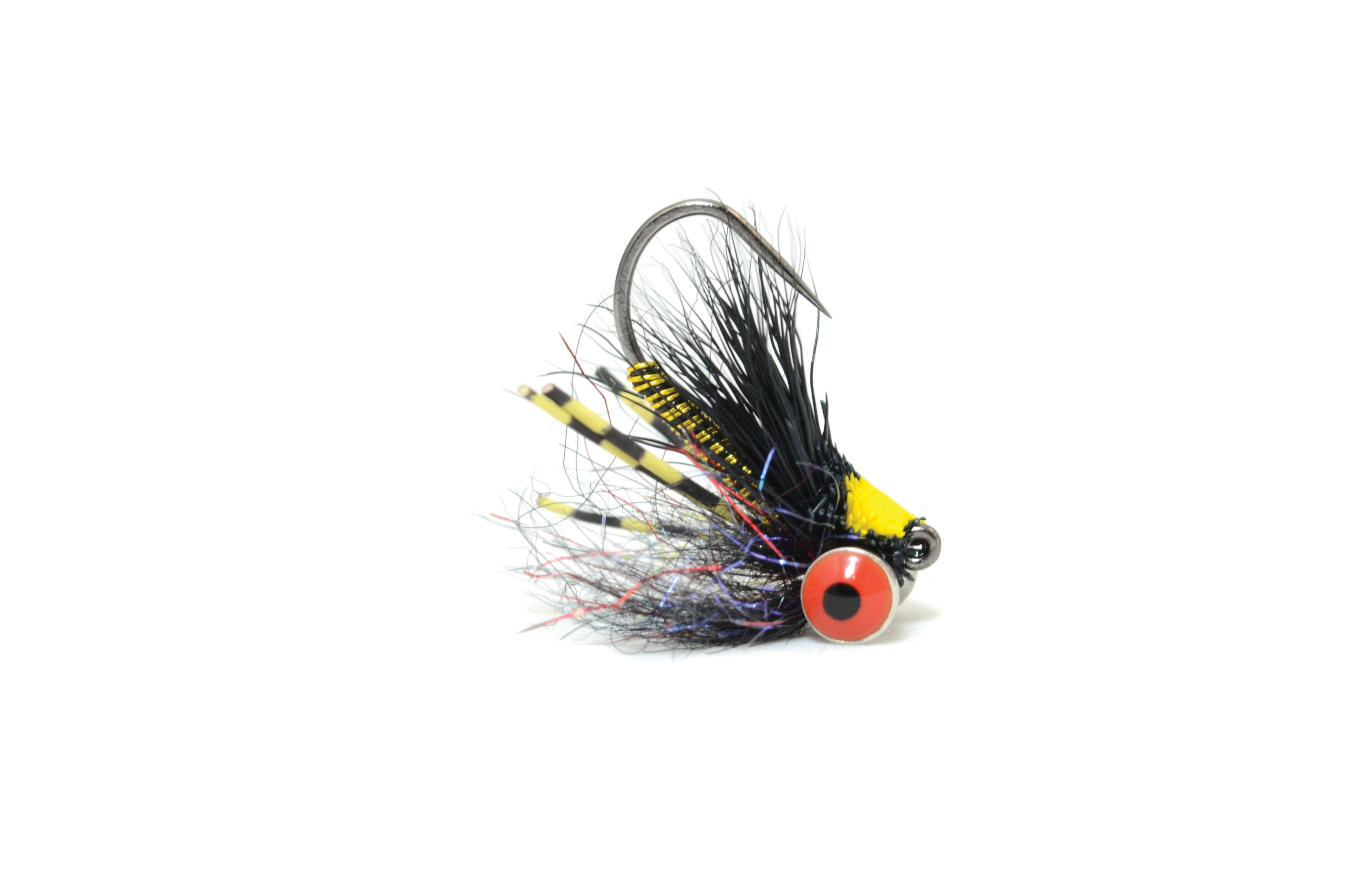 Bluegill Mini Slider Black & Yellow