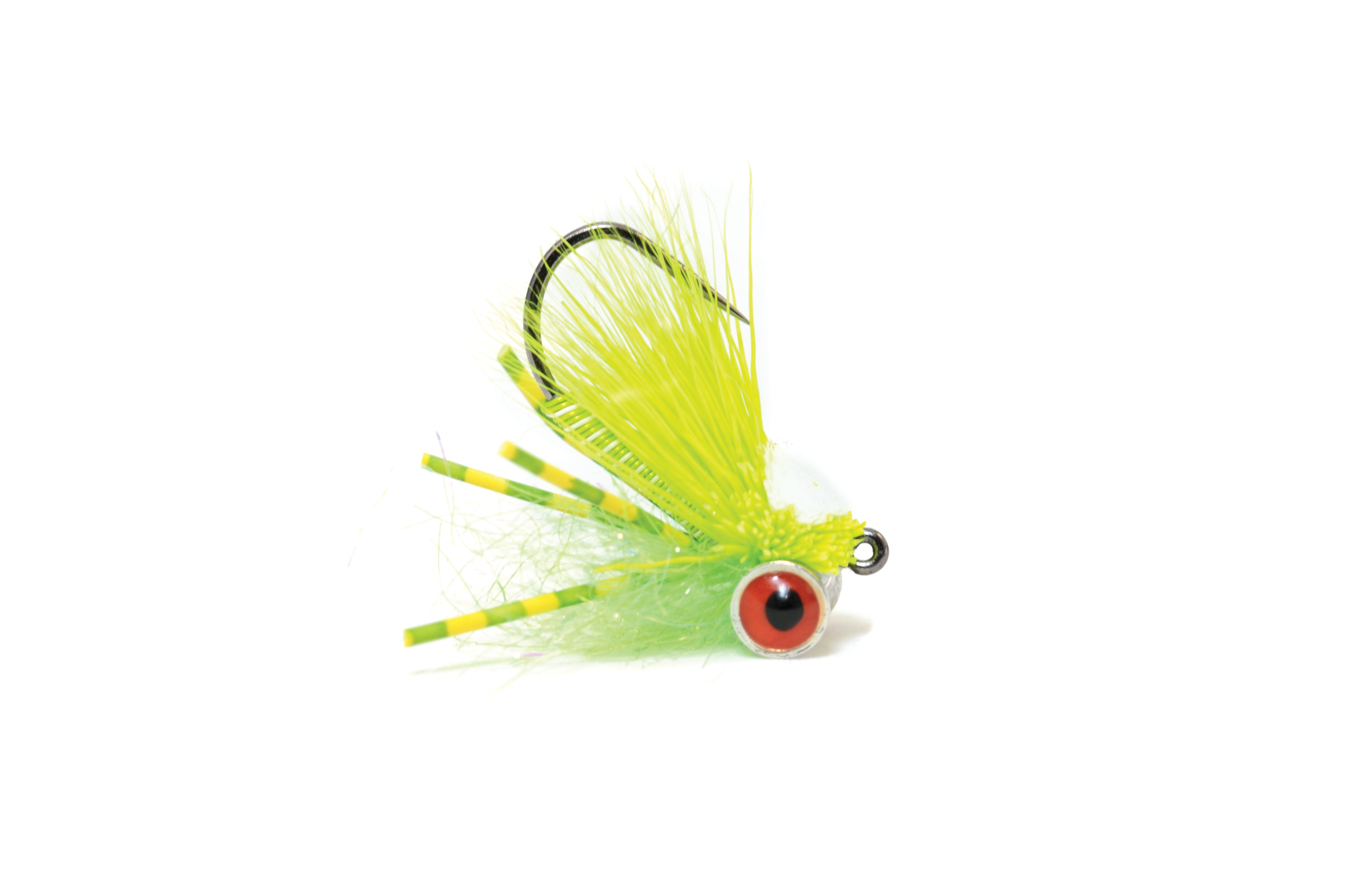 Bluegill Mini Slider White & Chartruese
