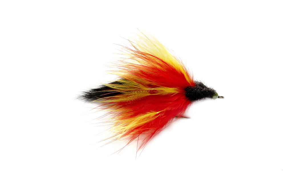 Tarpon Toad Red & Black