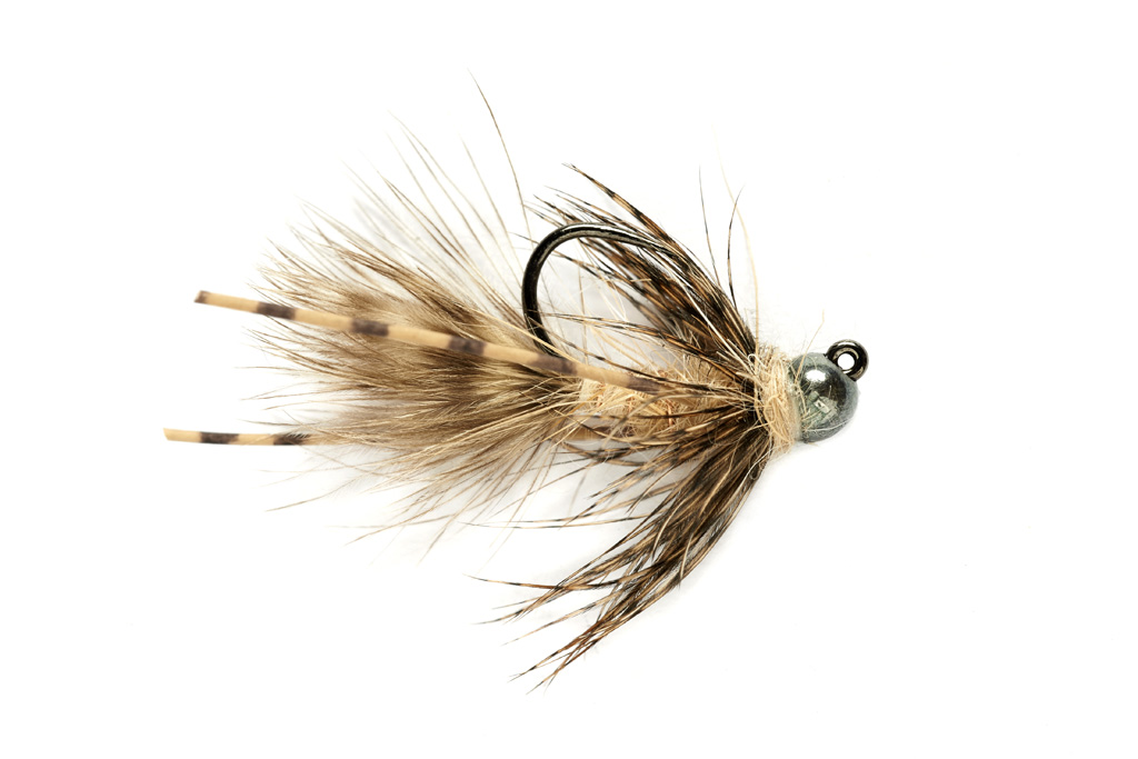 Tungsten Jig Bugger Tan Barbless